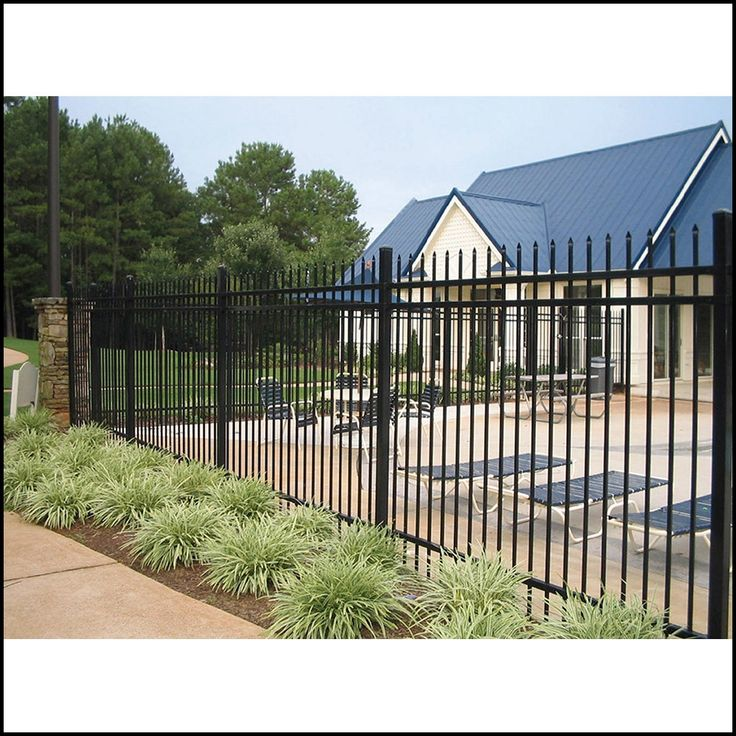 Ameristar Fence Cost Per Foot | Iron fence panels, Fence ...