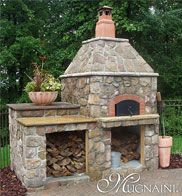 Outdoor wood fired Pizza oven is a must for our backyard reno!