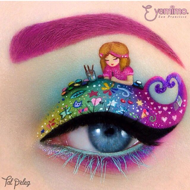 It's totally an ART on the EYE! We can't imagine how @tal_peleg works on her magic hand on those details were drawn precisely. ❤️❤️❤️❤️ _________________________________  ⒮⒣⒪⒫ ⒫⒭⒪⒟⒰⒞⒯⒮ ⒜⒯ www.shopeyemimo.com/falseeyelashes-ntr35