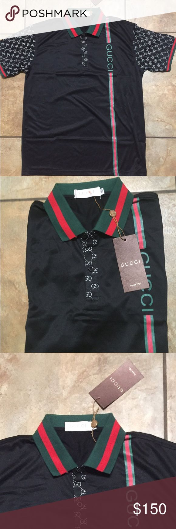 Gucci men's shirt authentic Nwt Gucci Shirts Polos