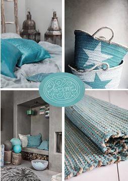 moodboard - turquoise