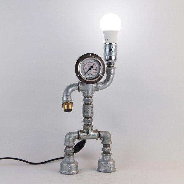 Desk Light Socket: 24 Best DIY PIPE LAMPS Images On Pinterest
