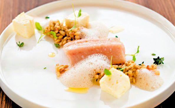 Von der Redaktion für Sie getestet: Konfierte Forelle mit Zitronen Ritschert. Gelingt immer! Zutaten, Tipps und Tricks