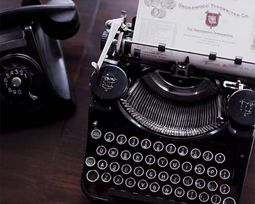 I ♥ typewriters