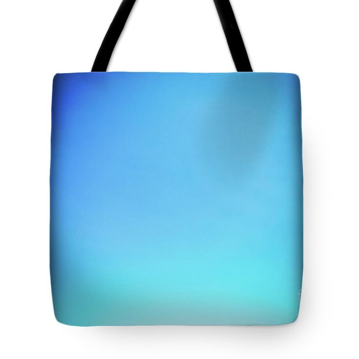 Turquoise Blue Sky Tote Bag