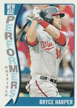 2014 Topps Heritage New Age #NAP-BH Bryce Harper Washington Nationals #2