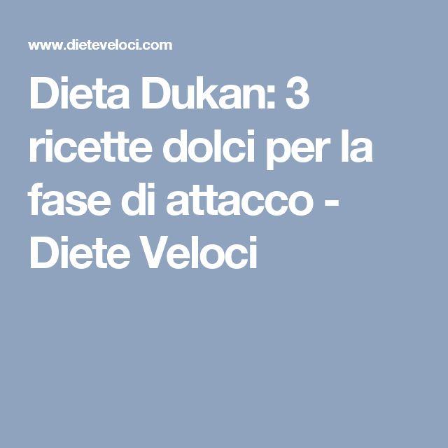 Dieta Dukan: 3 ricette dolci per la fase di attacco - Diete Veloci
