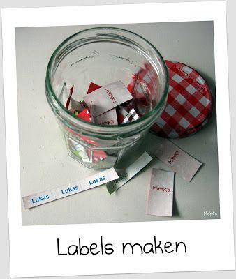 Sew Natural Blog: DHZ: labels maken deel II