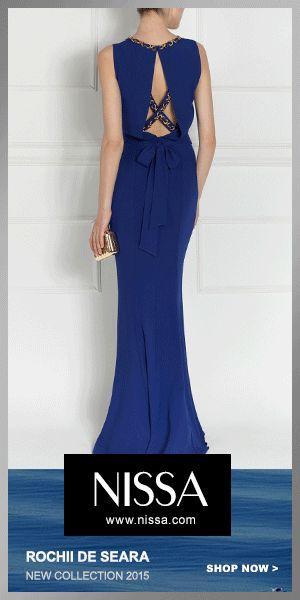 NISSA Evening 2015  #nissa #evening #new #collection #ss2015 #dress #longdress #blue #bleaumarin #sea #backless #fashionn #fashionista #look #style