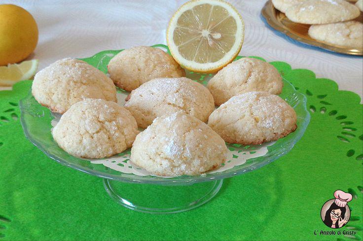 biscotti sofficissimi al limone