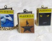 Broadway Playbill Story Locket