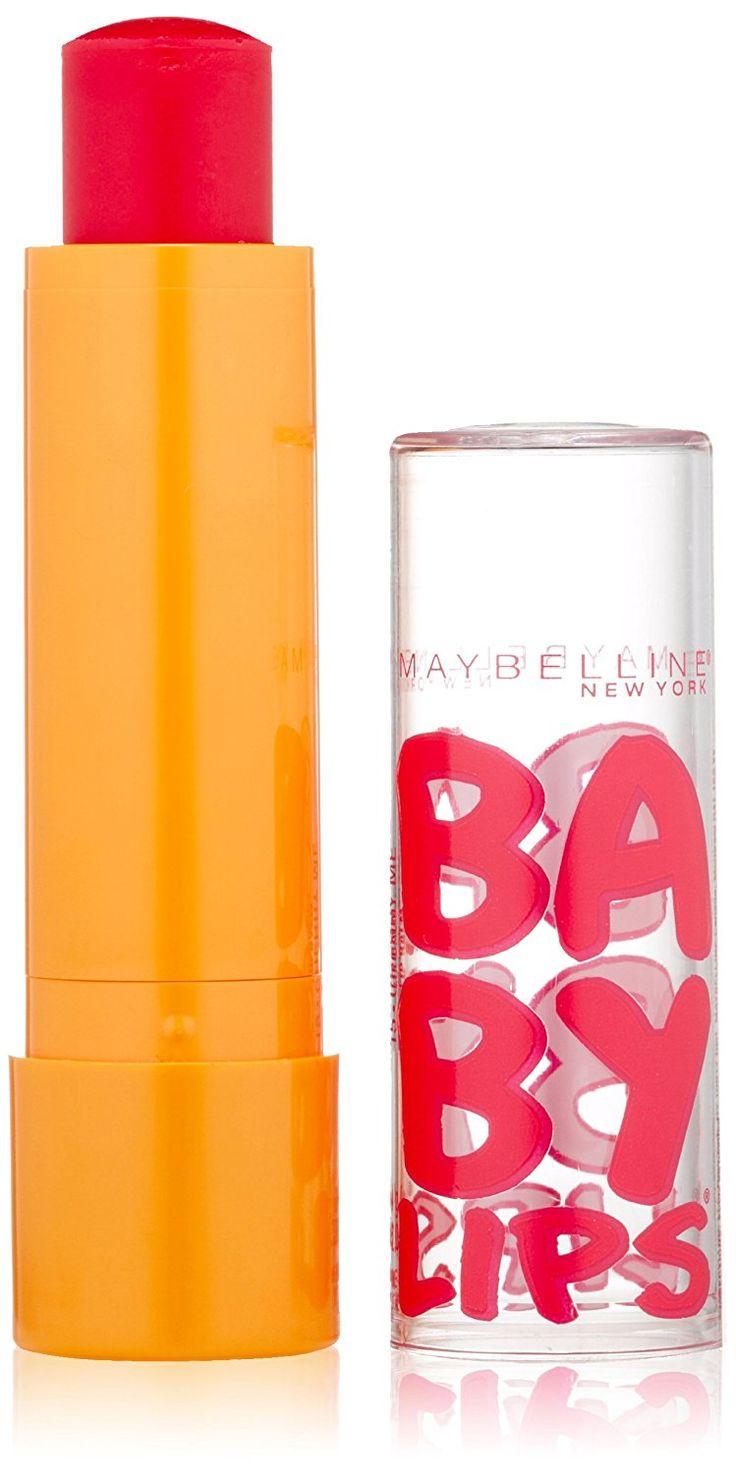 Maybelline Baby Lips Moisturizing Lip Balm, Cherry Me, 0.15 Ounce