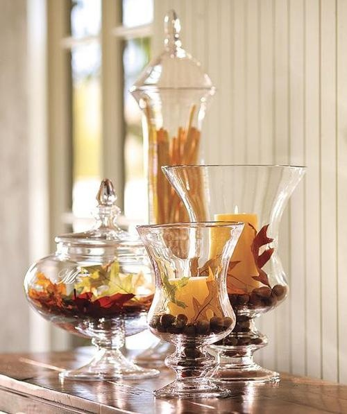 Home Decorating Ideas Glass Vases: Every Season ... Colored Water ... Add