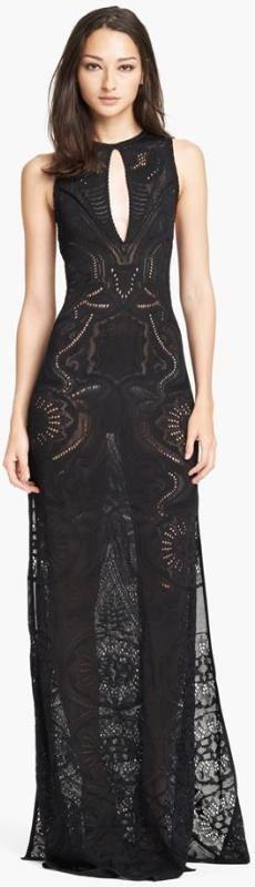 Silk Knit Gown by Roberto Cavalli