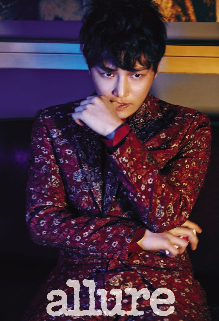 Byun Yo Han Allure Korea February 2015 Look 2