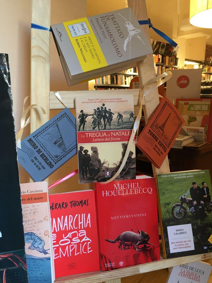 La Tregua di Natale a Genova, presso la libreria L'Amico Ritrovato! Fotografia di Alessandro