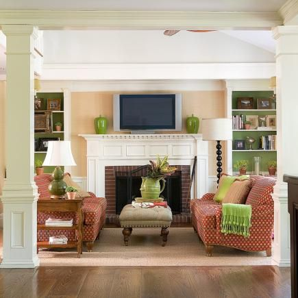 Best 25 casual family rooms ideas on pinterest beauty - Decorating ideas living room fireplace ...