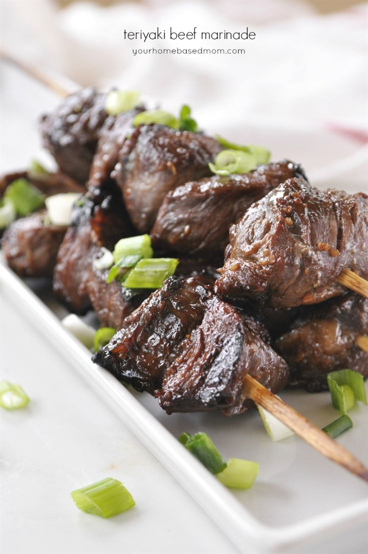 Teriyaki Beef Marinade - works great will lots of different cuts of meat.