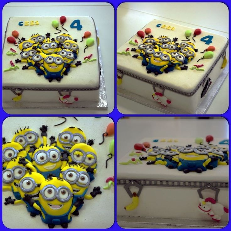 Look more Minions! Minions Party Cake,