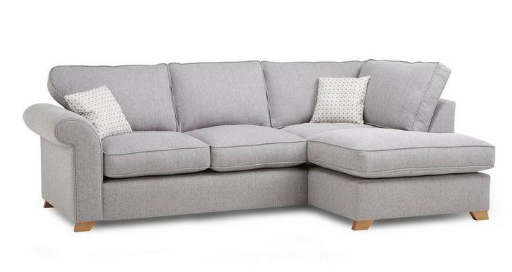 Angelic Left Arm Facing Corner Sofa Bed  | DFS