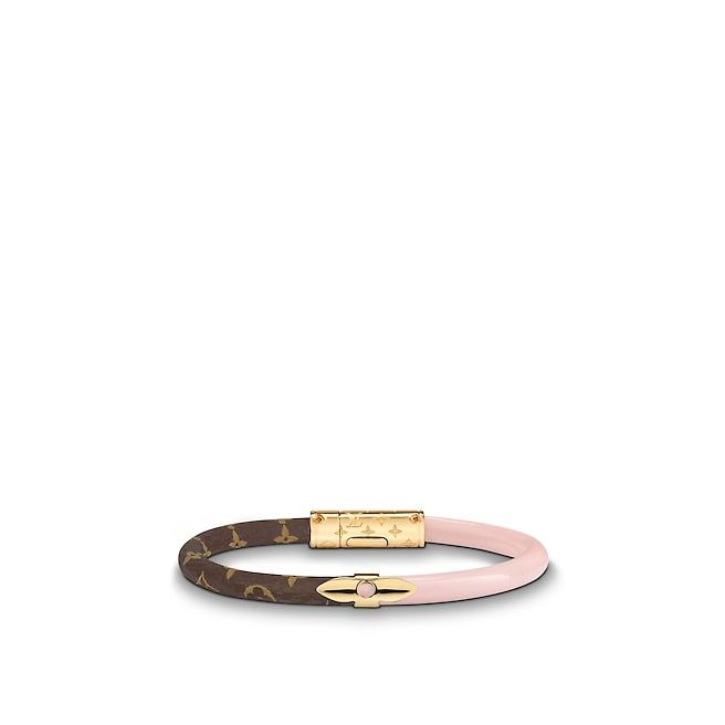 472f4f3589a19 View 1 - Monogram ACCESSORIES LEATHER BRACELETS Daily Confidential Bracelet
