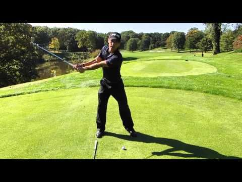 how to keep your left arm straight in golf - PGA Golf Lessons, Ben Hogan Fairfax VA