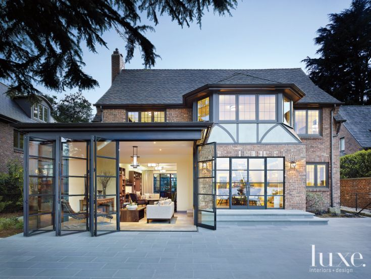 Classic Seattle Tudor Home With Contemporary Interiors By NB Design Group