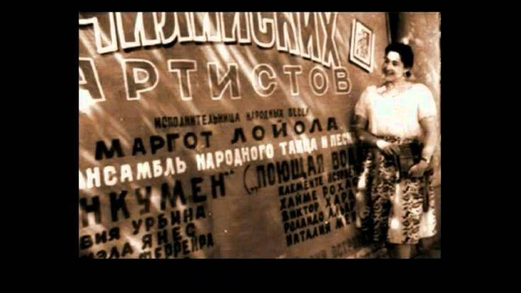 Margot Loyola Palacios Tonada La clavelina.avi