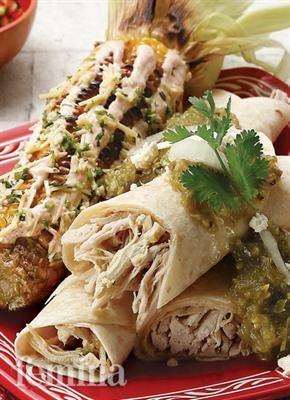 Femina.co.id: Enchiladas Verdes Y Elotes (Meksiko) #resep