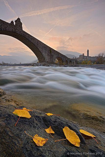 Ponte Gobbo, Bobbio, Italy