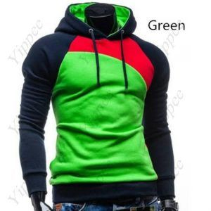 Spring/Autumn Casual Printing Color Blocking with Hoody  $22.20