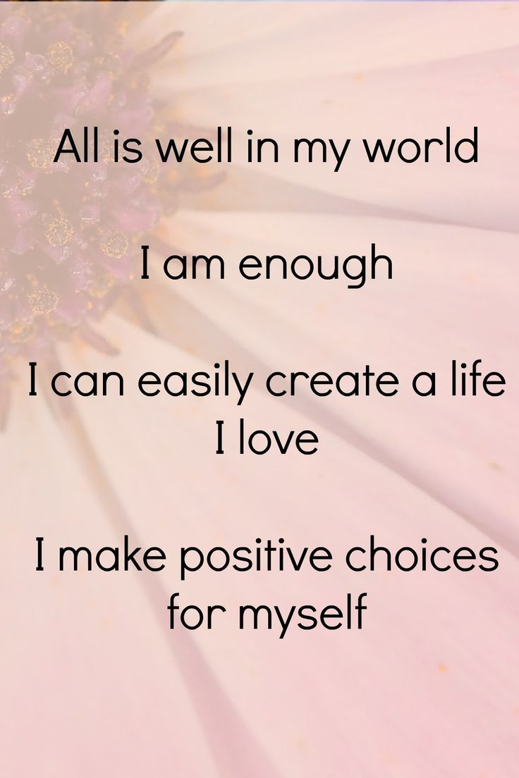 Positive Affirmation Quotes 1067 Best Positive Affirmations Images On Pinterest  Inspiration