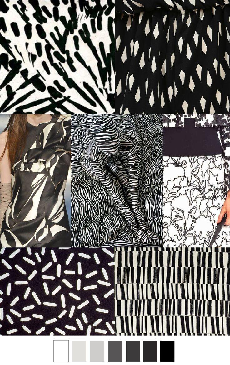 S/S 16 EBONY & IVORY from the pattern curator #üçgengezegenler #fashion #trends