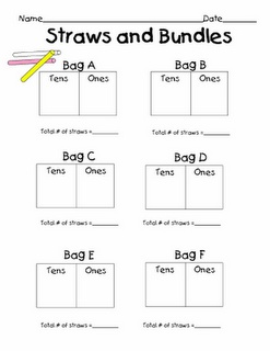tens and ones math centers math centers elementary math. Black Bedroom Furniture Sets. Home Design Ideas