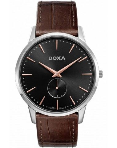 Zegarek Szwajcarski DOXA SLIM LINE 1 105.10.101R.02