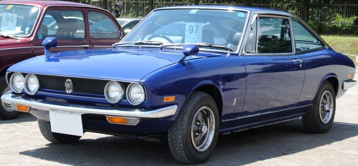 1972 Isuzu 117 Coupe