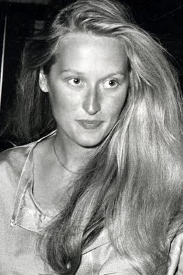 "Meryl Streep - Taken during her days at Vassar College, very likely how young Meryl appeared to legendary Italian film director Dino de Laurentiis during audition for ""King Kong."" Disgusted, de Laurentiis commented to his son in Italian ""She's ugly. Why did you bring me this thing?"" The famously-intelligent Streep promptly responded in fluent Italian ""I'm very sorry to disappoint you"" before being sent away by the embarrassed director."