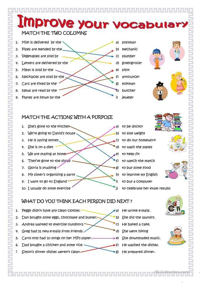Improve your English   Vocabulary. English language learning