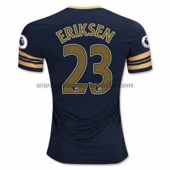 Jalkapallo Pelipaidat Tottenham Hotspurs 2016-17 Eriksen 23 Vieraspaita