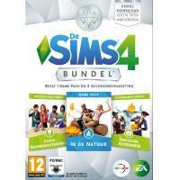 Electronic Arts De Sims 4 Bundel Pack (Keuken Griezel Natuur) (Add-On) (DVD-Rom) (1032034)  Let op: De game De Sims 4 is vereist om te spelen. Deze bundel bevat downloads voor 1 game pack en 2 accessoires pakketten: De Sims 4 In de natuur (game pack): Verken het buitenleven: Er staan je Sims nieuwe verrassingen te wachten in de wildernis. Verken de gloednieuwe bestemming Granite Falls en neem je Sims uit kamperen vertel spookverhalen rond het kampvuur zing liedjes en geniet van tal van…