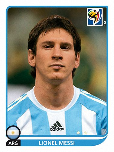 122 Lionel Messi - Argentina - FIFA World Cup South Africa 2010