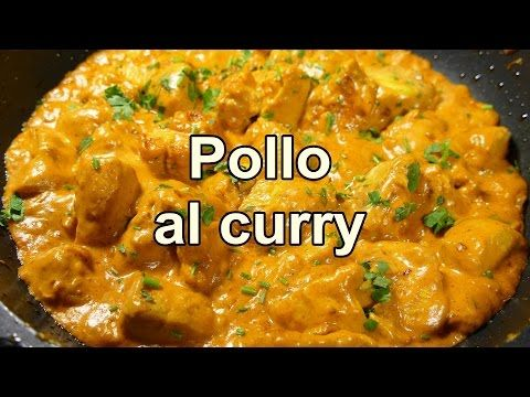Pollo curry. Comida de la India. - YouTube