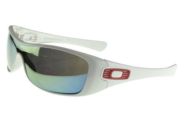 2013 Discount Oakley Antix Sunglasses white Frame multicolor Lens#Oakley Sunglasses