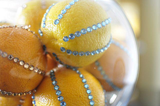 decorative fruit orange