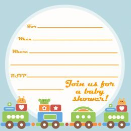 free printable baby shower invitations artwork
