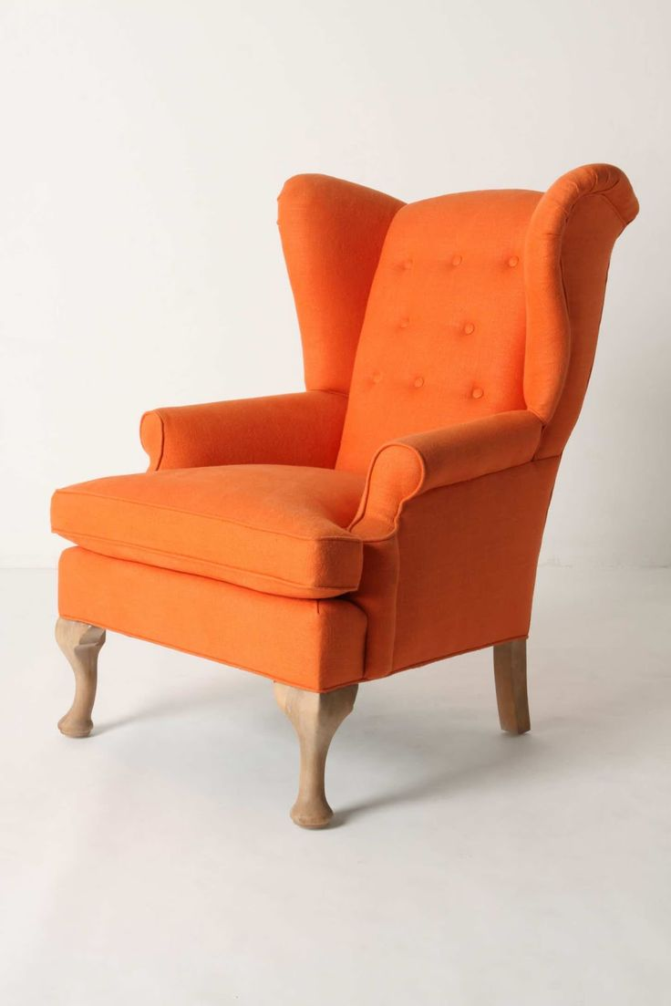 Chevron wing chairs - Howell Wingback Chair Would Love A Chevron Pattern