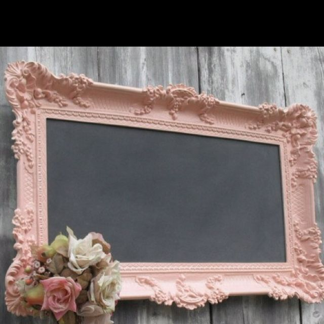 NOrmally I love very rustic decor, but really diggin' this girlie stuff!