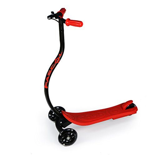 FASCOL Scooters For Kids 3 Wheels boys  girls Scooter Surfing Style With Flashing Wheel Red >>> Want to know more, click on the image.Note:It is affiliate link to Amazon.