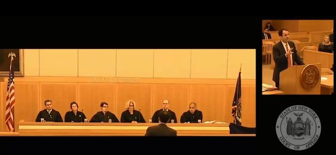 Top-rated criminal defense attorney Ryan Blanch defends his client in front of 6 judges – NY State Court of Appeals