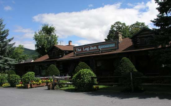 I can't wait for Lake George! The Log Jam Restaurant
